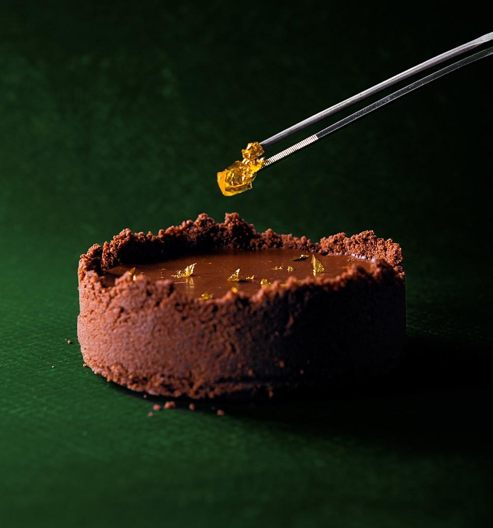 aksominis šokoladinis tortas, receptai, saldūs