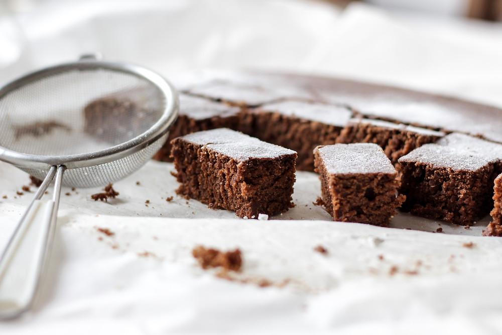 šokoladinis pyragas, VMG