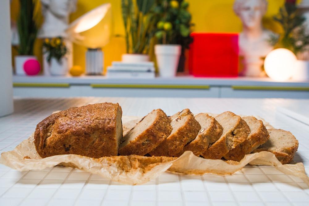 Žaibiška bananų duona, vmg receptas
