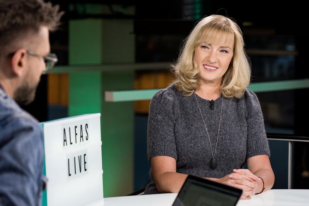 ALfas Ivanauskas ir Edita Gavelienė, Alfas live