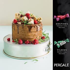 Nustebinkite savo mamas ir močiutes ypatingu tortu su PERGALĖS  saldainiais!