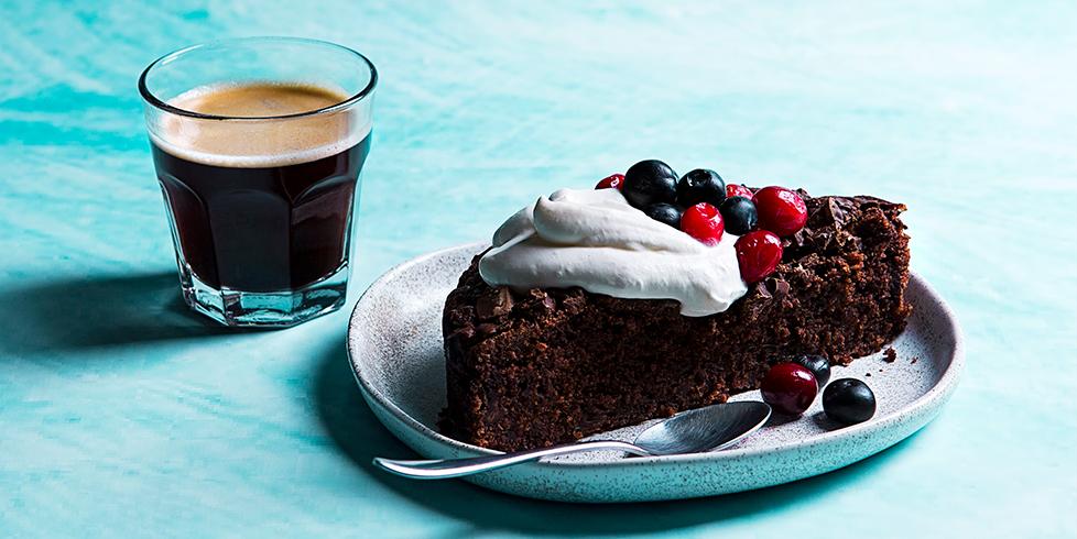 Šokolado ir bananų pyragas, vmg receptas