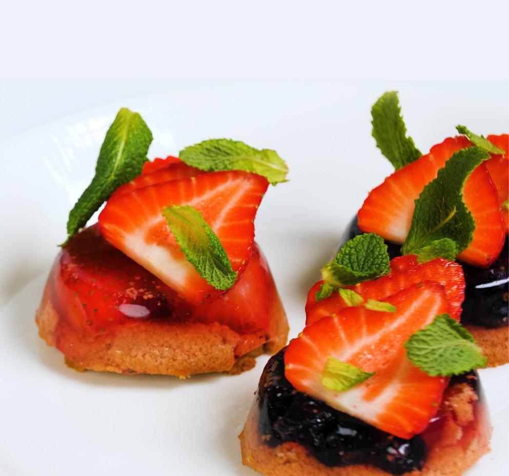 uogų želė pyragaičiai, Alfo Ivanausko receptas