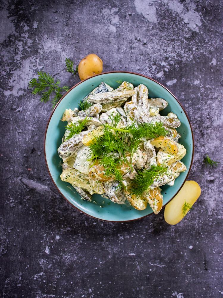 bulvių salotos, VMG receptai
