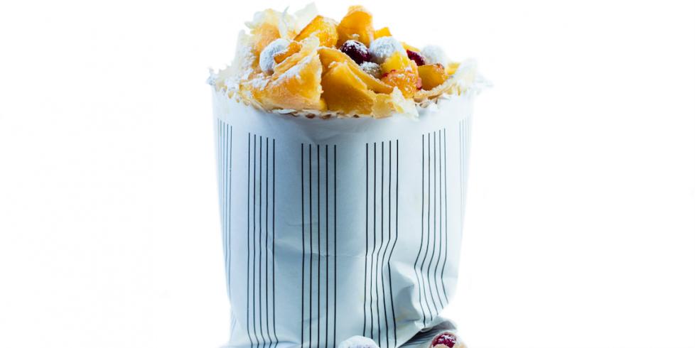 Lietiniai blynai su obuoliais ir migdolų drožlėmis, vmg receptas