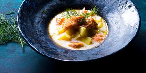 Lašišos sriuba, vmg receptas