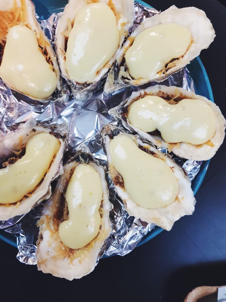 Sūriu užkeptos austrės