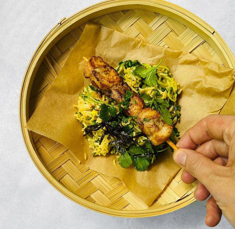 Agurkiniai ryžiai, Alfo Ivanausko receptas