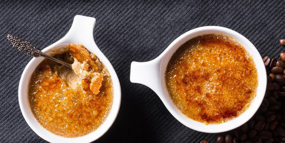 "Amžiaus derinys: ""Crème brulé"" su kava, vmg receptas"