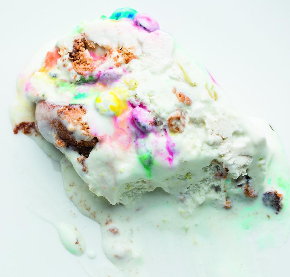 Ledų tortas su zefyrais ir meduoliais, Alfo Ivanausko receptas