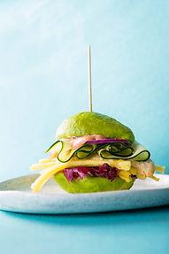 A'la burgeris: avoburgero, vaflių suvožtinio, desertinio burgerio ir kt. receptai