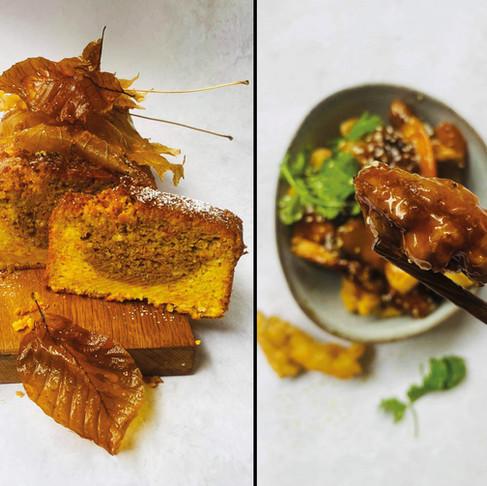 ALFAS VIENAS NAMUOSE receptai: traškios mėsos juostelės, sultingas morkų pyragas, valgomi lapai