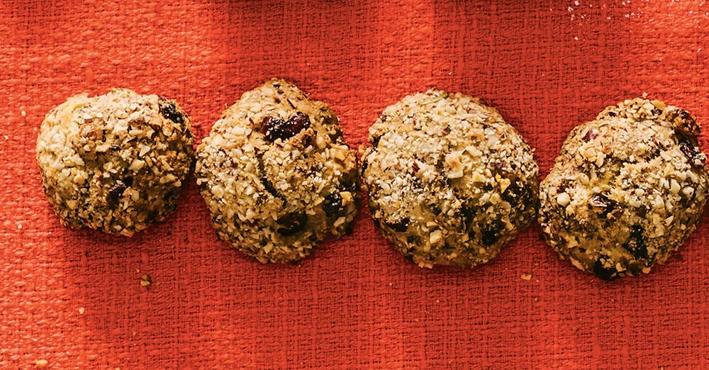 Moliūginiai sausainiai, vmg receptas
