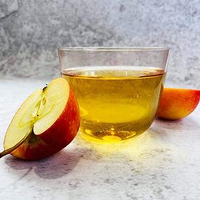 Gazuotas obuolių sulčių gėrimas (Receptas)