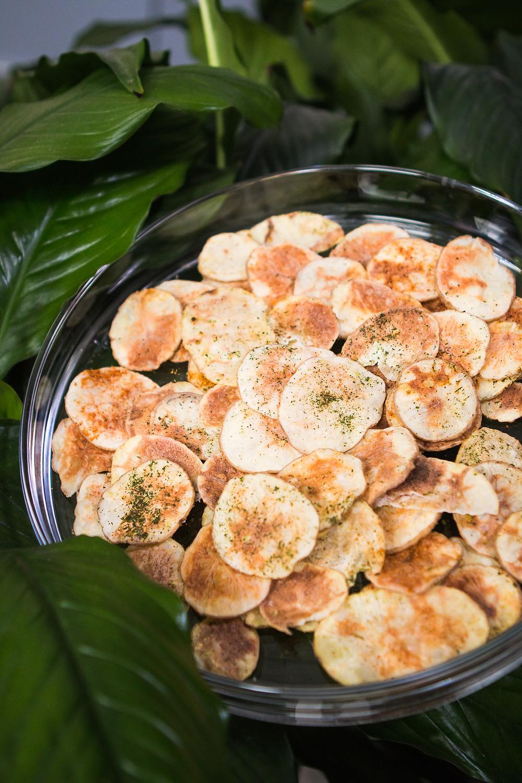 Bulvių traškučiai mikrobangų krosnelėje, vmg receptas