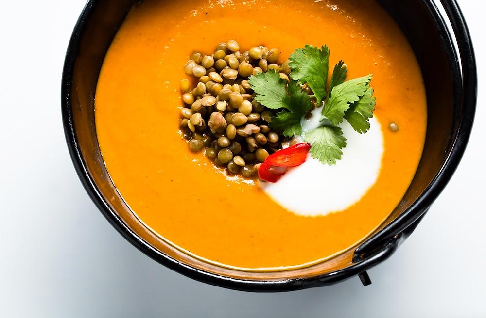 Indiška sriuba su lęšiais (aštri), vmg receptas