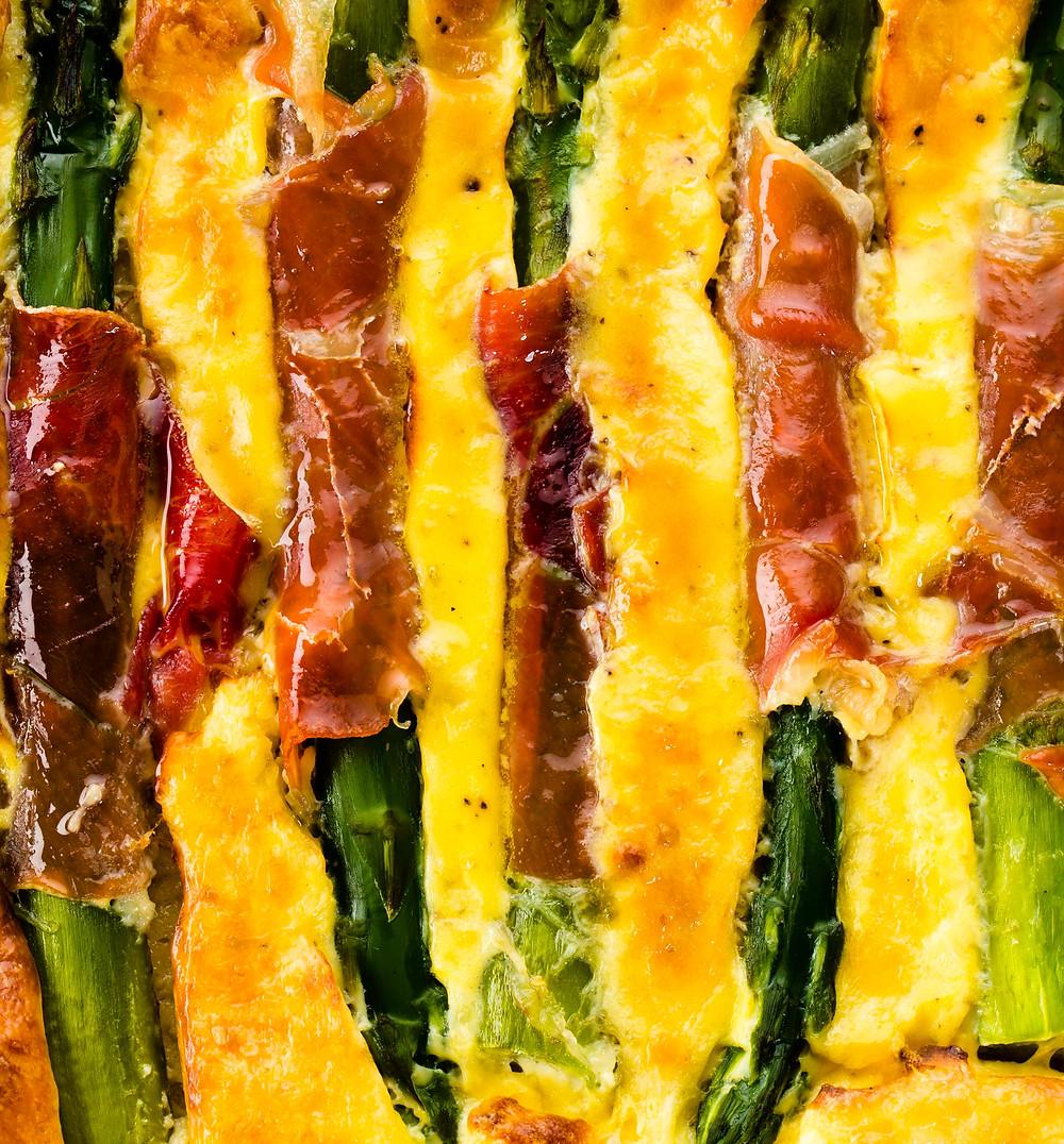 omletas su rikota ir smidrais, Alfo Ivanausko receptas