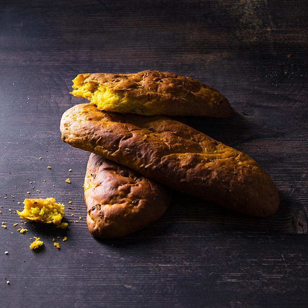 kvapni bulvių duonelė su ciberžole, kepiniai, Alfo Ivanausko recepetai