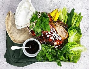 Sultingas, veidrodinis ančiukas tarsi iš kinų restorano