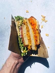 "Traškusis ""burgeris"" milžinas be mėsos (Alfo receptas)"