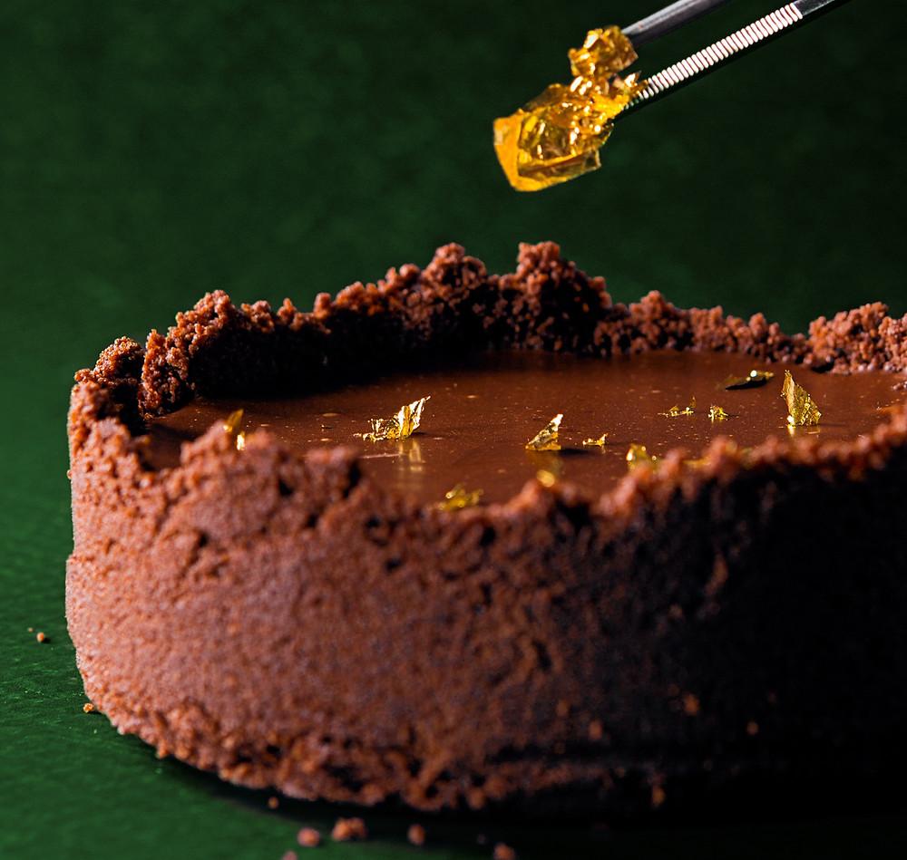 Aksominis šokoladinis tortas, VMGonline receptai