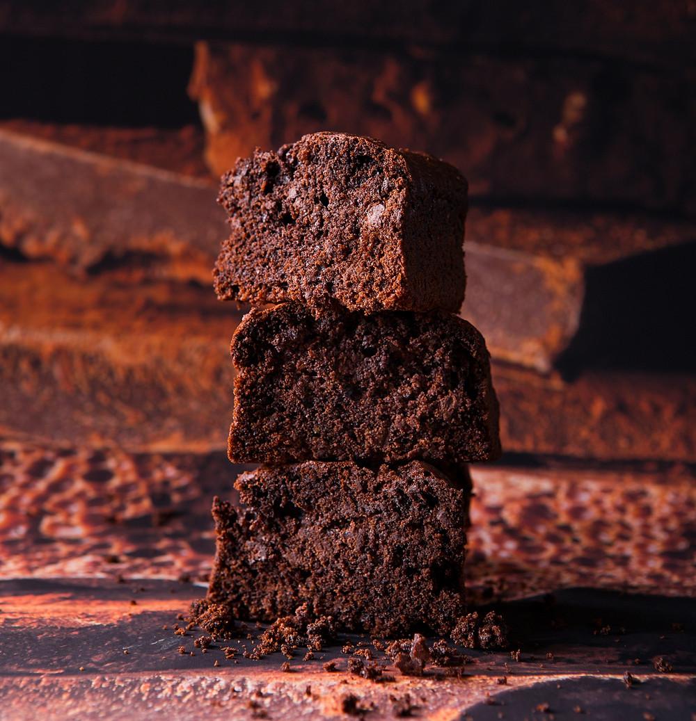 Veganiškas šokoladinis keksas