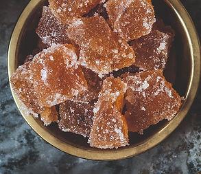 Naminiai obuolių marmeladiniai saldainiai (Receptas)