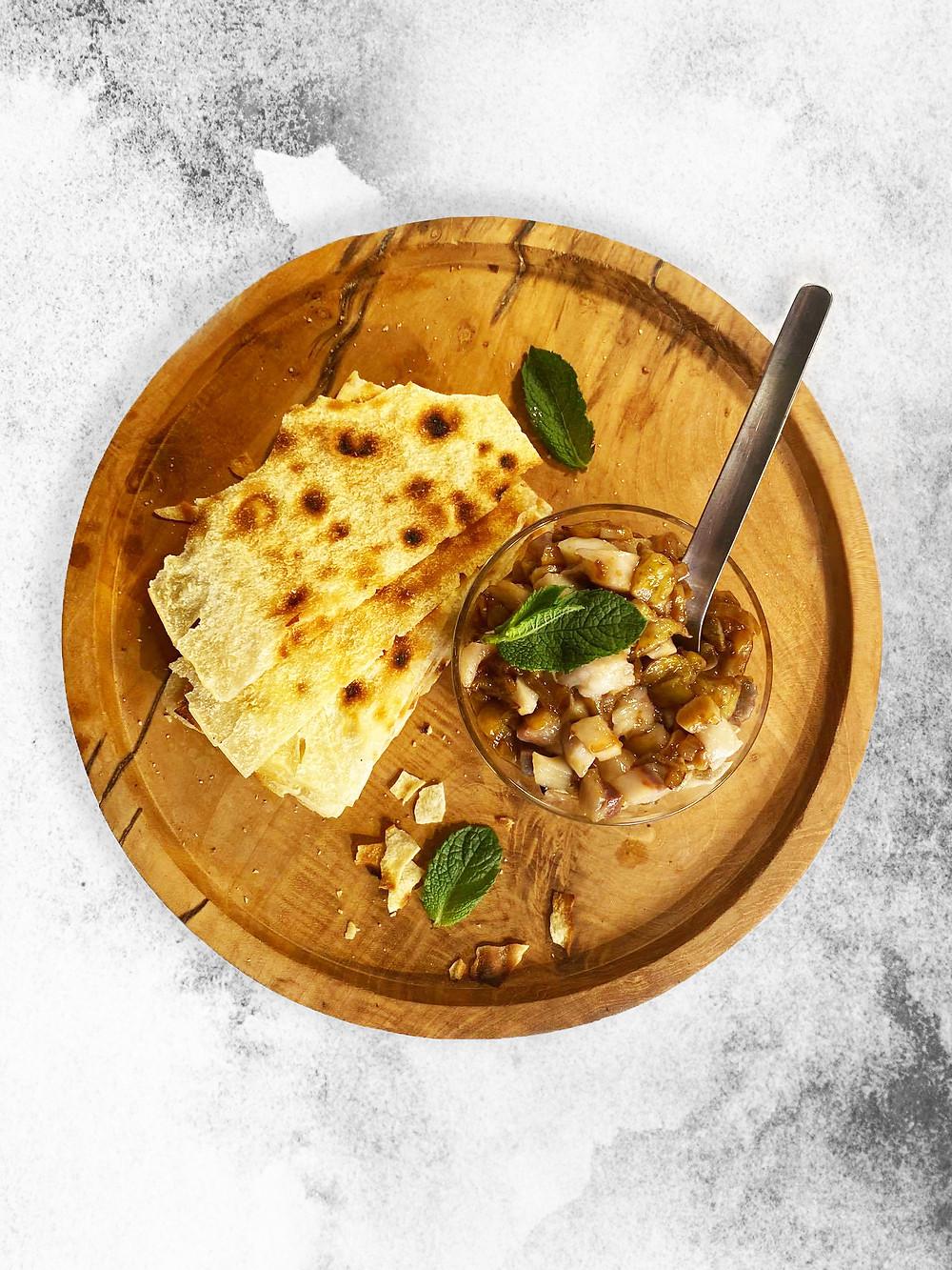 silkė, baklažanai, terijakio padažas, silkė su baklažanais, Alfo receptai