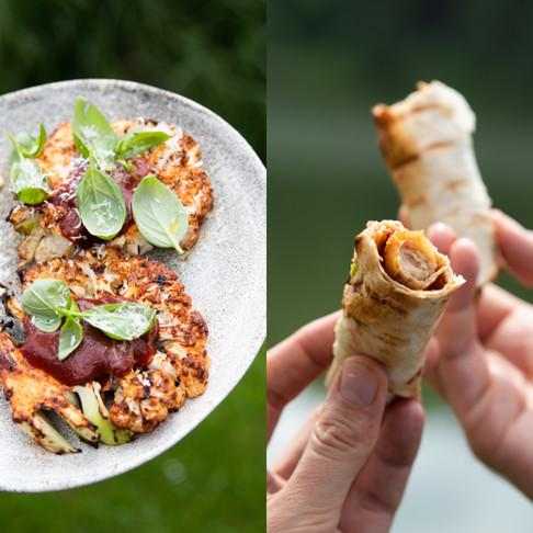 """VIENAS GAMTOJE receptai: žiedinio kopūsto """"steikas"""" ir gardžiausi """"hotdog'ų"""" konkurentai"""