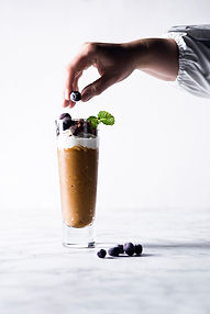 Pusryčių desertas: šalta bananinė kava