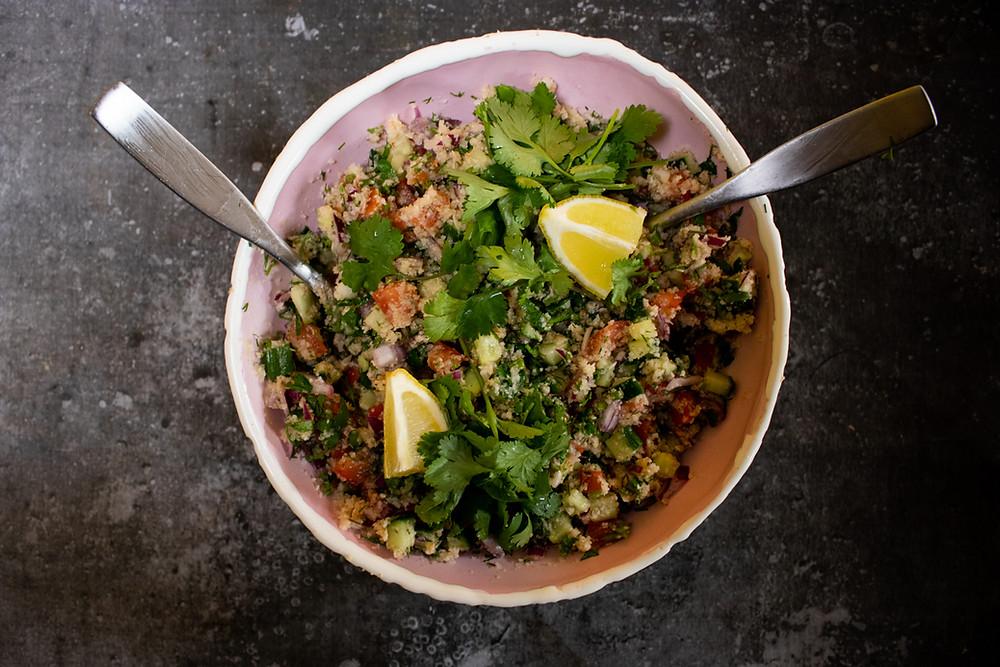 Kalafiorų ryžių salotos, VMGonline.lt
