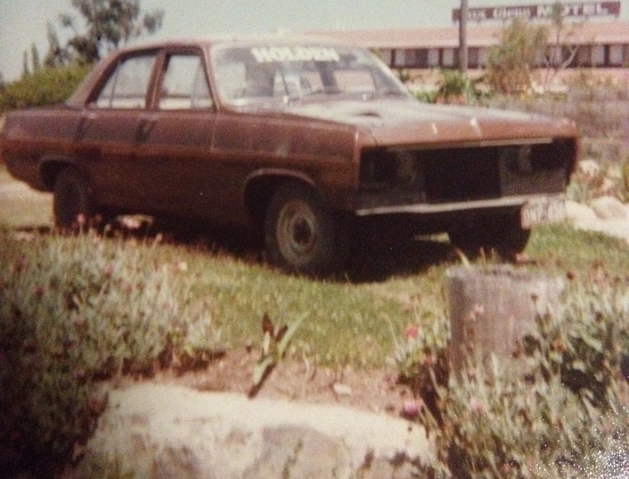4 - out of panel shop 1980 .JPG