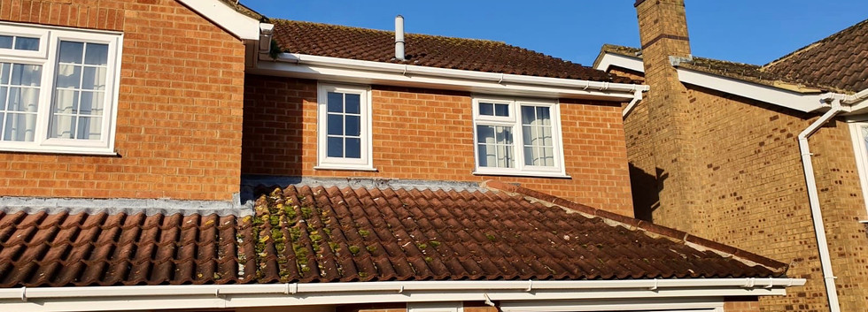 All Seasons roof clean photo