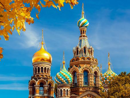 ロシア・サンクトペテルブルク 血の上の教会