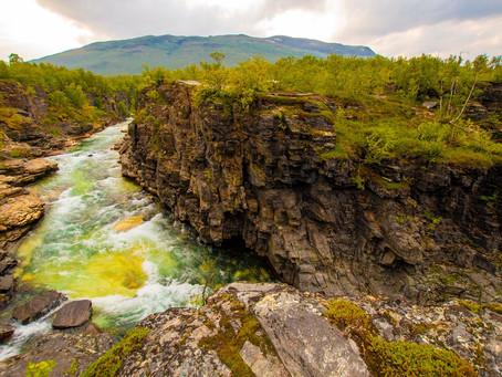 スウェーデン・アビスコ国立公園