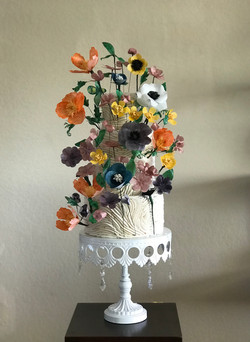 Rice Paper Flowers