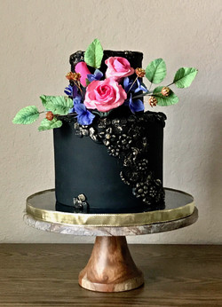 Sugar flowers and Bas-relief