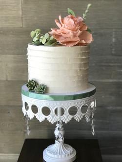 Buttercream Bridal Shower Cake