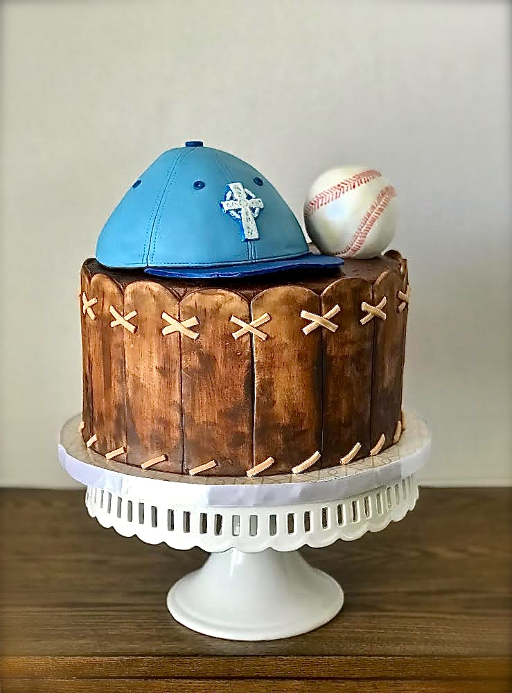 Baseball Themed Cake