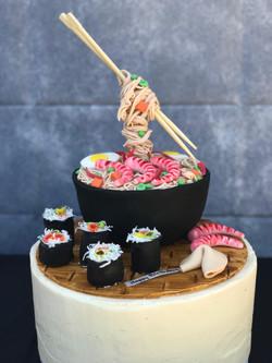 Sushi/Raman cake