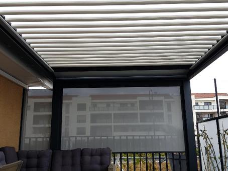 Est-il possible de poser une pergola bioclimatique sur un balcon ?