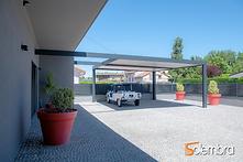 Pour éviter de construire un garage pensez au carport en aluminium (Marseille et Aix en Provence)