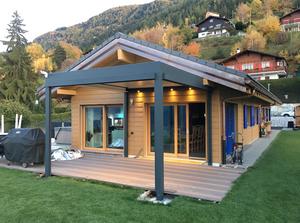 Pergola bioclimatique sur mesure Solembra Savoie et Haute Savoie