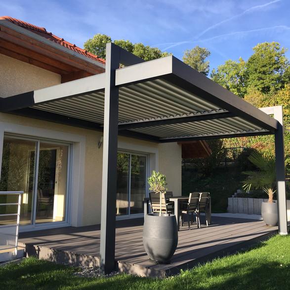 Pergola bioclimatiques Suisse Solembra