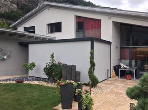 Pergola bioclimatique à lames orientables Suisse par Solembra
