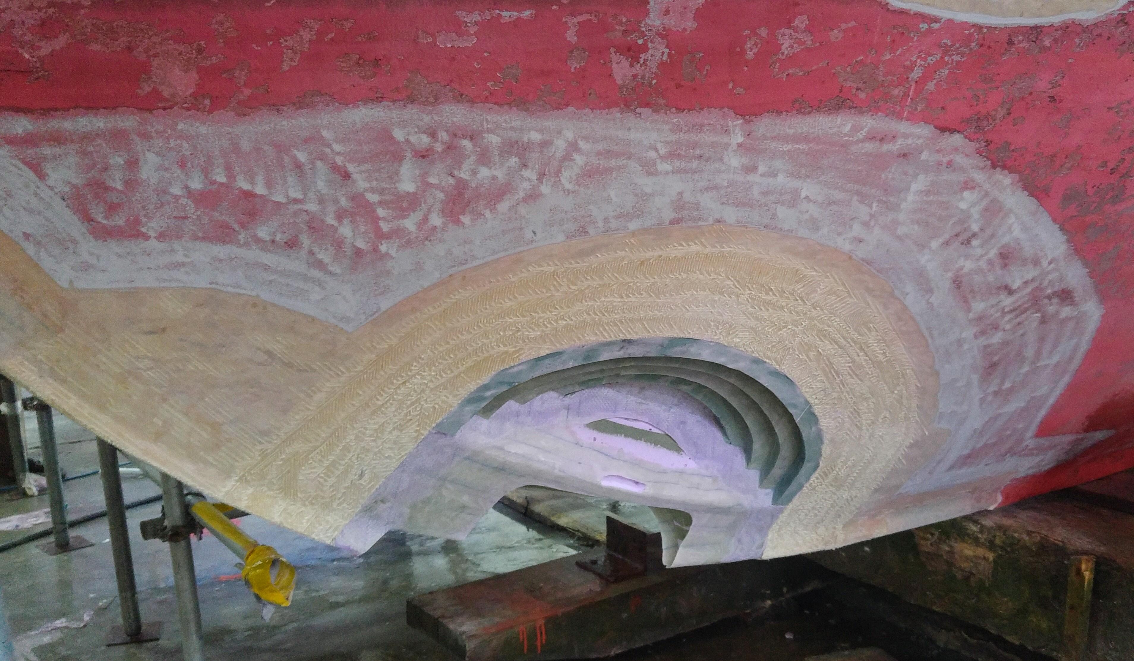 Hull Bow Repair