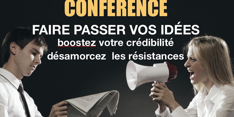 Conférence : Faire passer vos idées