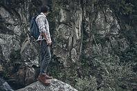 Homme dans la nature