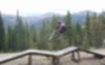 Dr. Hutton mountain biking