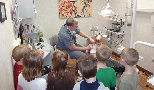 dental office fieldtrip tour